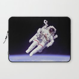 Astronaut on a Spacewalk Laptop Sleeve