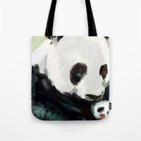 mother Tote Bags featuring Mother by Jaleesa McLean