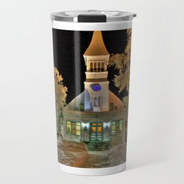 Immaculate Conception Church, Fairbanks Alaska Travel Mug