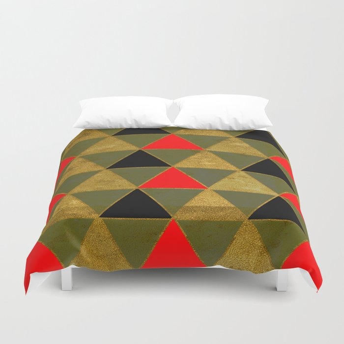 Abstract #481 Duvet Cover