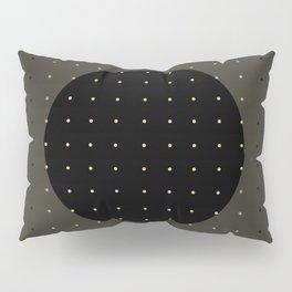 """""""Grey & Polka dots central circle pattern"""" Pillow Sham"""