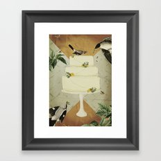 Let Them Eat Cake :: I Framed Art Print