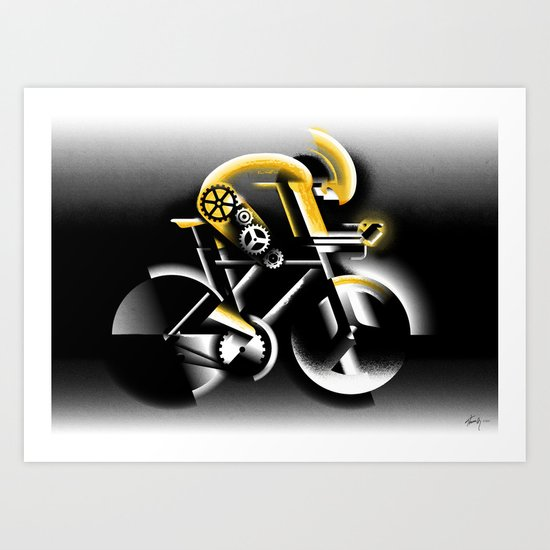 Time Trial Art Print