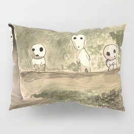 kaonashi.to.kodama Pillow Sham