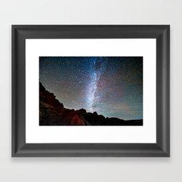 Too Many Stars To Fathom Framed Art Print