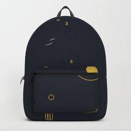minimalist black #4 Backpack