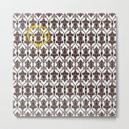 SHERLOCK HOLMES WALLPAPER Metal Print