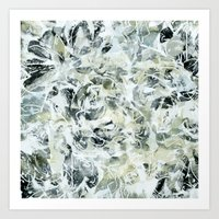 mineral Art Prints featuring mineral by clemm
