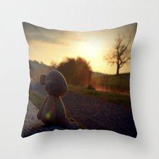 Palin at Dawn Throw Pillow