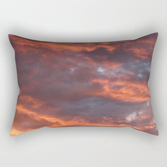 The Sun Will Set Rectangular Pillow