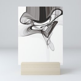 Smoky Noir Mini Art Print