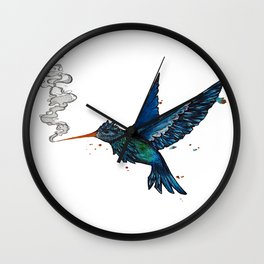 Smoke Nectar Wall Clock