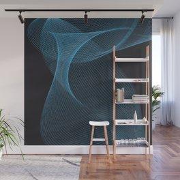 Swirrl pattern Wall Mural