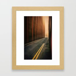 Hot in the City Framed Art Print