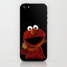 Elmo and Little Butterfly iPhone & iPod Skin