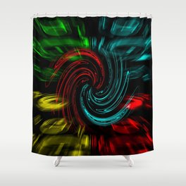 Abstract perfection 47 Shower Curtain