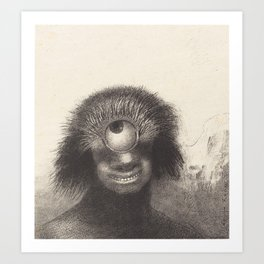 Odilon Redon Cyclops Illustration Art Print