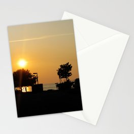Newport News Sunset Stationery Cards