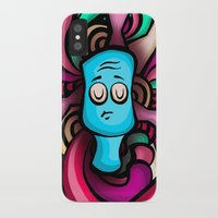 foo fighters iPhone & iPod Cases featuring Foo by Shana-Lee