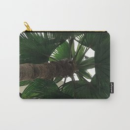 Forest Green Palm Tree Upshot Photo Carry-All Pouch