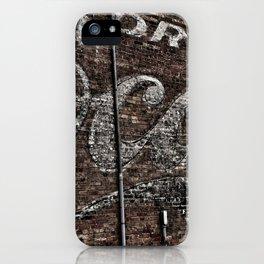 Asheville Coke Series No. 1 iPhone Case