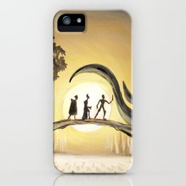 The Tale of the Three Brothers iPhone Case