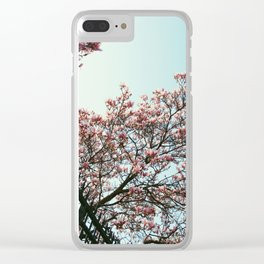 Spring in Paris Clear iPhone Case