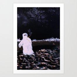 Lonely Nights Art Print