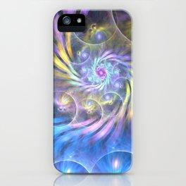 fractal: spiralling soul iPhone Case
