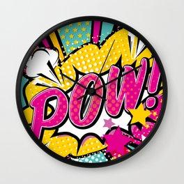 Pop Art - Pow! Wall Clock