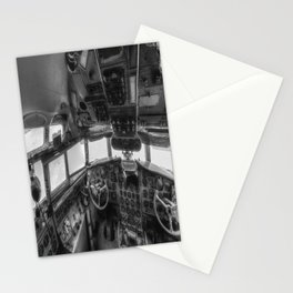 Ilyushin IL 18 Cockpit View Stationery Cards