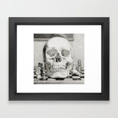 The King is Dead Framed Art Print