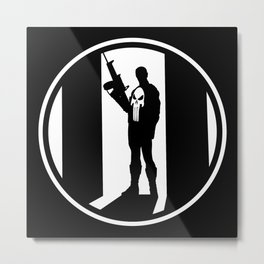 The Punisher Metal Print