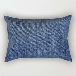 Jeans On All Rectangular Pillow