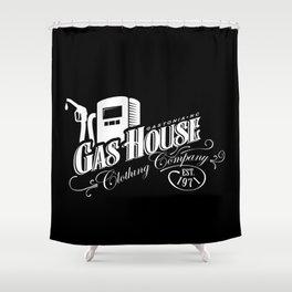 Gas House Pump Logo Shower Curtain