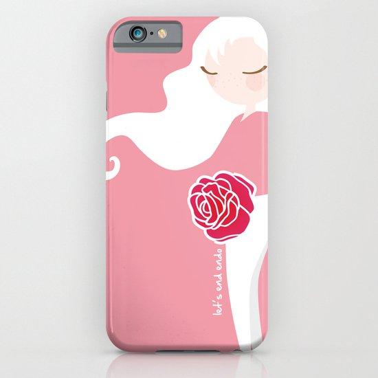 Let's End Endo iPhone & iPod Case