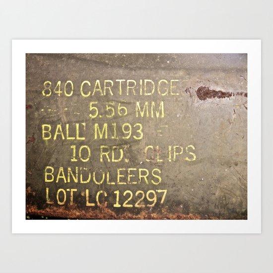 BANDOLEERS Art Print