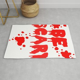 Be scary Rug