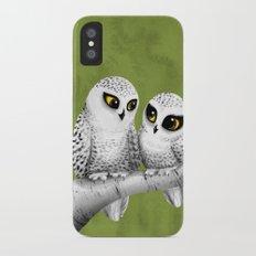 Owl Love You iPhone X Slim Case