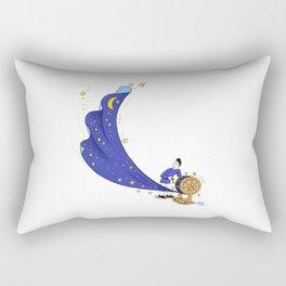 Want to morning. Rectangular Pillow