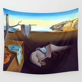 Salvador Dali The Persistence of Memory 1931 Artwork, Wall Art, Prints, Posters, Tshirts, Men, Women Wall Tapestry