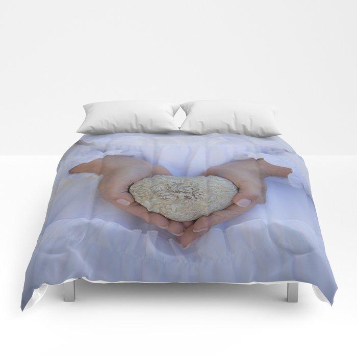 Heart of stone Comforters