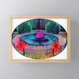 Calm Water Framed Mini Art Print