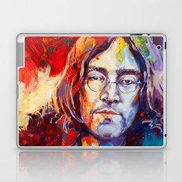 Watercolor John lenon Laptop & iPad Skin