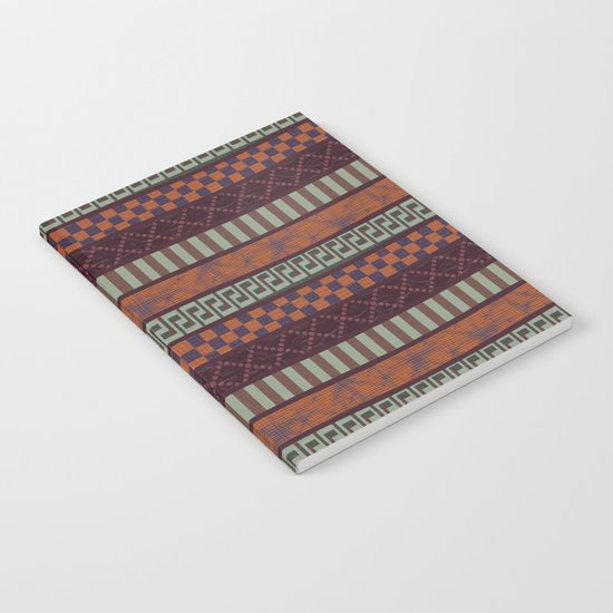 Busy Ribbon Stripes 2 Notebook
