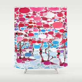 :: Flamingo Hookah :: Shower Curtain