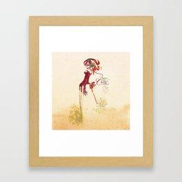 Geek so chic 2 Framed Art Print
