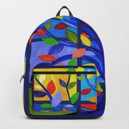 Tree of Life, dark background Backpack