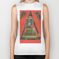 contact Biker Tanks featuring CONTACT by N3GATIVE CR33P