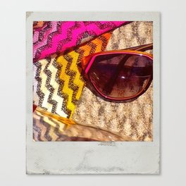 Seeing Missoni Canvas Print
